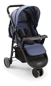 Carrinho De Bebe Agile 3 Rodas Jeans Multikids Baby
