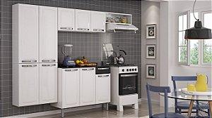 Conjunto Cozinha Rose com Balcão 4 peças - Itatiaia Branco