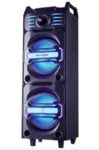 CAIXA DE SOM MULTILASER SP285 PARTY SPEAKER DJ 350W