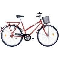 BICICLETA HOUSTON ONIX VB A26 ON26V1M C/CESTA VERMELHA SUN R