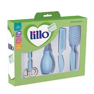 Kit Recem Nascido Higienico Lillo Azul