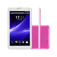 TABLET MULTILASER M9 3G QC ROSA NB248 QUADRE-CORE 8GB