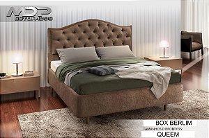 BOX CASAL MDP BERLIM 1.60 QUEEN TEC 07 BEGE