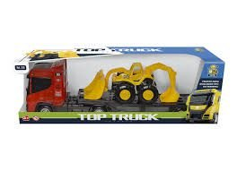 CAMINHAO TOP TRCK C/ TRATOR BS TOYS 310