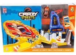 PISTA CRAZY STREETS RAMP BS TOYS 320