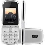 Celular Multilaser UP Play P9077, Dual Chip, MP3, Câmera - Branco