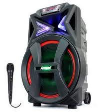 Caixa de Som Amplificada Amvox ACA 700 Pancadão 700W Bluetooth, USB, Radio FM, Micro SD