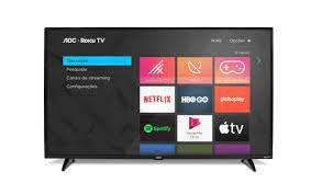 TV AOC 43 SMART 43S5195 ROKU FHD PRETO BIV