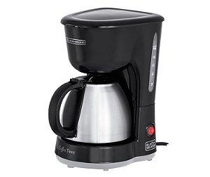 CAFETEIRA ELETRICA BLACK E DECKER CM15-BR 18X 600W 127V