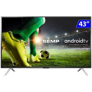 TV 43P TCL LED SMART FULL HD COMANDO VOZ (MH) - 43S5300