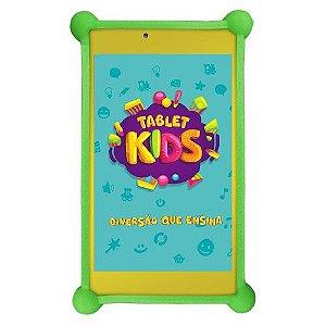 TABLET DL KIDS 7P 8GB WI-FI 1CAM C/ CAPA PROTETORA amarelo branco - TX394BBV