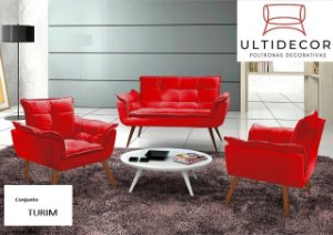 ESTOFADOS  ULTIDECOR 2.1.1 LUGARES  TURIN