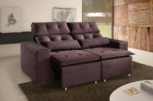 CONJ SOFA RETRATIL KASACOMIGO UBA 2L C/PILLOW