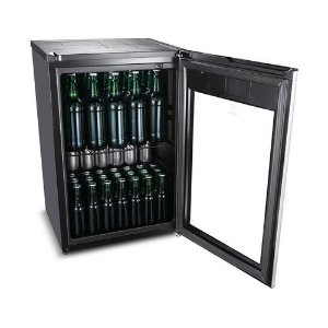 CERVEJEIRA 100L ELECTROLUX WHITE TOUCH ON GLASS PRETO - BEER1