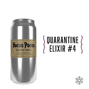 Quarantine Elixir #4 - Experimental Red Ale com Aroma de Coco Torrado - 5,3% ABV - 473ml - Apenas para SP