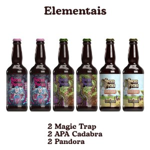 Pack Elementais - 6 unidades