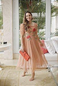 Vestido Zamar Aretha Midi