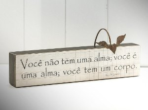 """BLOCO DE PALAVRAS ID """"VOCÊ NÃO TEM UMA ALMA..."""""""