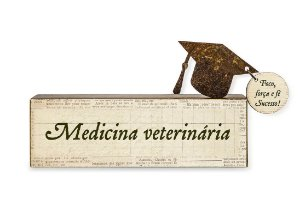 MINI BLOCO MEDICINA VETERINARIA