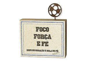 """BLOCO CANELA """"FOCO FORÇA..."""""""