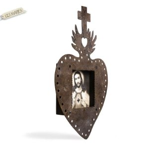 MOLDURA COM ID RELICARIO SAGRADO CORAÇÃO DE JESUS