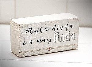 """MINI BLOCO MAD CLARA """"MINHA DINDA..."""""""