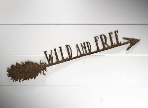 "FLECHA DE FERRO ""WILD AND FREE..."""
