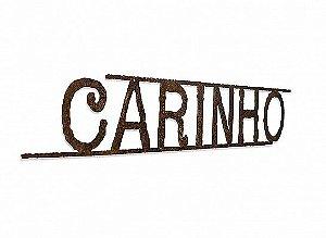 PALAVRA CARINHO FERRO LINHAS
