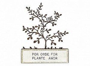 """BLOCO FERRO SILHUETA RAMOS """"POR ONDE FOR..."""""""
