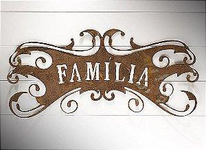 PLACA ROCOCO FAMILIA G