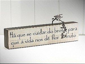 """BLOCO DE PALAVRAS """"HÁ QUE SE CUIDAR..."""