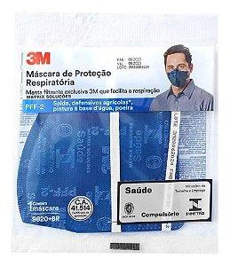 Máscara Respiratória 9820+BR Pff2 S/Válvula - 3M