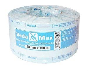 Rolo para Esterilização 8cm x 100m - Vedamax