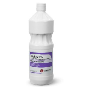 Antisséptico Tópico Degermante Riohex 2% - Rioquímica