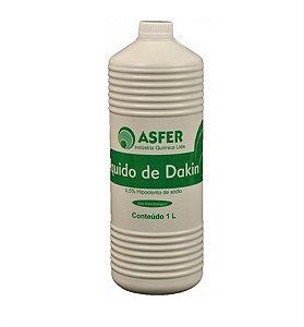 Hipoclorito de Sódio 0,5% Líquido de Dakin - Asfer
