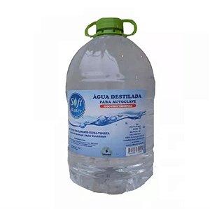 Água Destilada para Autoclave Soft Water 5 litros - CPOH
