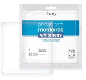 Placa para Moldeira de Clareamento Whiteness 2x3mm - FGM
