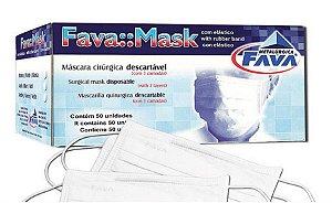 Máscara Cirúrgica Descartável - Fava