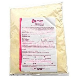 Gesso Pedra Tipo III Amarelo - Yamay