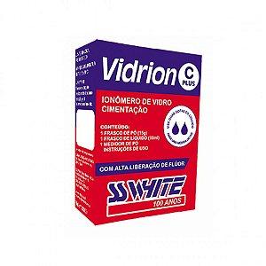 Ionômero de Vidro Para Cimentação Vidrion C Plus - SS White