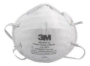 Máscara Respiratória 8801 Pff2 S/Válvula - 3M ( 20 Unidades )