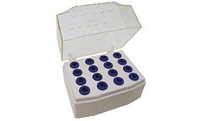 Estojo de Acessórios para Implantes Cristal - PRISMA