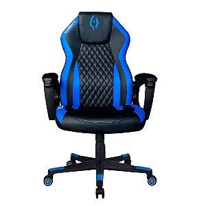Cadeira Gamer alto padrão Elements Elemental Aqcua Azul