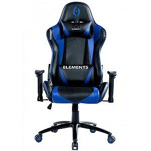 Cadeira Gamer alto padrão Elements Veda Aqcua Azul