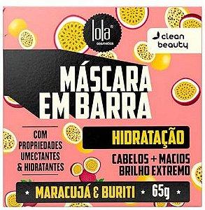 Máscara em Barra Hidratação 65g - Lola Cosmetics