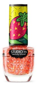 Esmalte Vegano Studio 35 #SurpresaDeMorango- Coleção Romero Britto 3