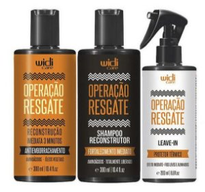 COMBO COMPLETO OPERAÇÃO RESGATE - WIDI CARE