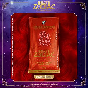 Máscara Pigmentante Beats Zodiac FOGO- Sagitário (Laranja) 100g Kamaleão Color