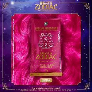 Máscara Pigmentante Beats Zodiac AR - Libra (Rosa) 100g Kamaleão Color