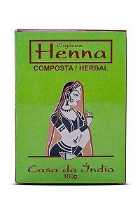 HENNA NATURAL COMPOSTA 100G
